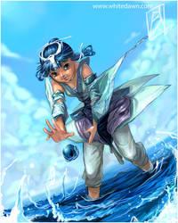 water summoner by borammy