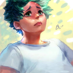 Midoriya conflicted by borammy