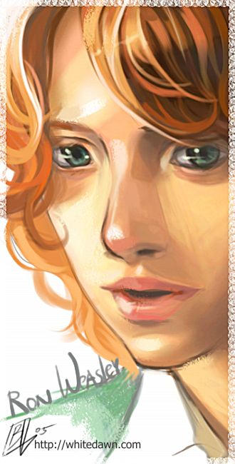 Ron Weasley - Harry Potter by borammy