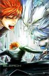 BLEACH- Ichigo and Hollow