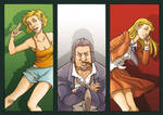 The Caravans- Characters