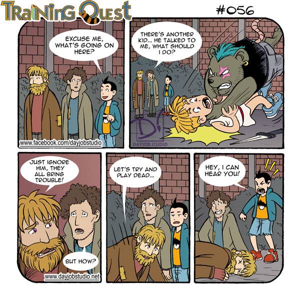 Training Quest #056 by lastbeach