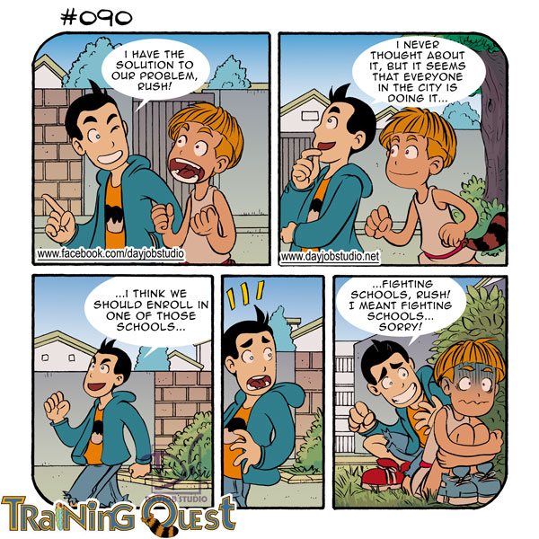 Training Quest #090 by lastbeach