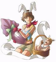 Easter Girl by lastbeach