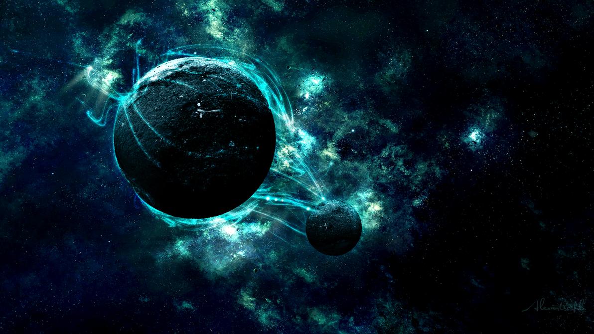 Planet Nebula Wallpaper by AlexArtsC4D on DeviantArt