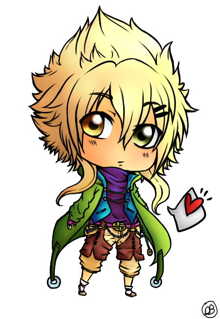 Zeno-chan waru wa COLORED by DesiPooted