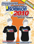 Komikon Summer 2010 Shirt Ad