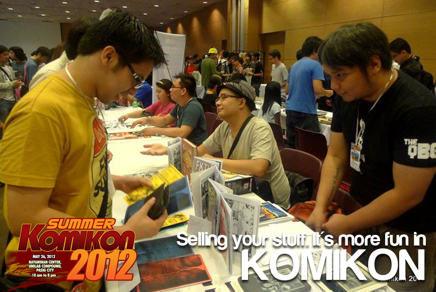 Selling. MORE FUN IN KOMIKON by komikon