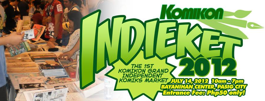 Indieket 2012 by komikon