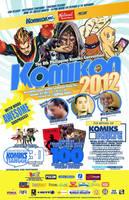 OCTOBER KOMIKON 2012 official poster