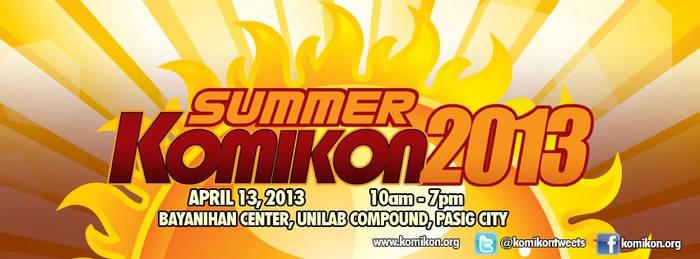 Summer KOMIKON 2013 banner