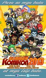 CHIBI TEASER SUMMER KOMIKON 2013 POSTER