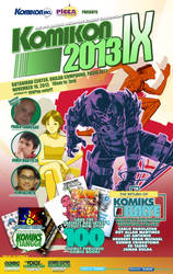 Unofficial NOVEMBER KOMIKON 2013 Poster