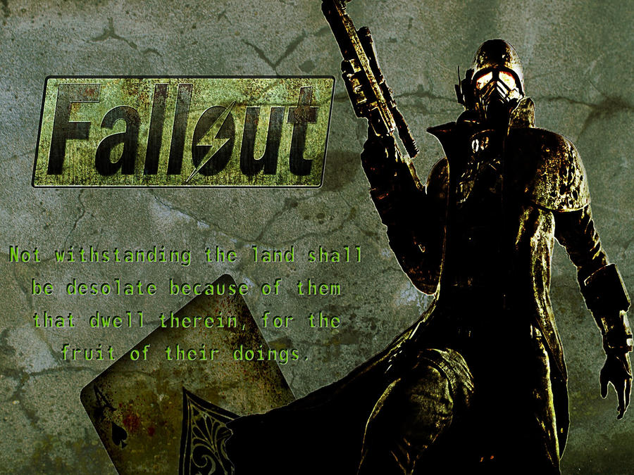 fallout typographic wallpaper by - photo #27
