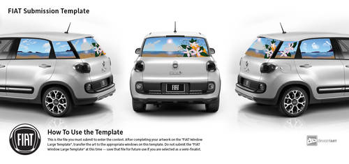 Fiat Entry 4: Seascape and Orange Blossoms