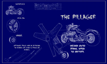 Dead Rising 3 - The Pillager Blue Print