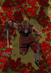 Battle of the rose garden