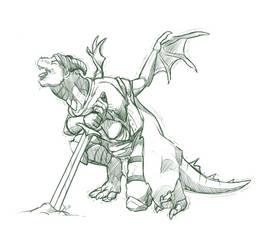 Knight dragon
