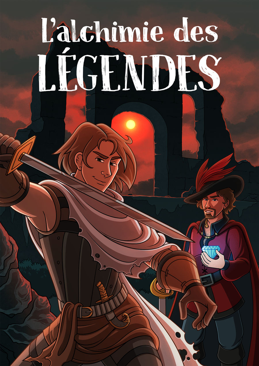 L Alchimie des Legendes (cover) by Hellypse