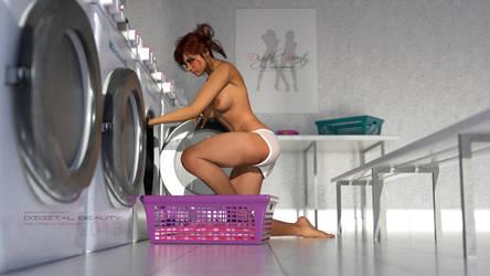 Digital Beauty Series - Laundrette by Digital-Beauty-Serie