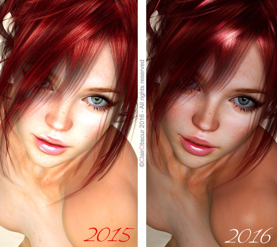 Digital Beauty Series - E-Portraiture II (june16) by Digital-Beauty-Serie