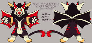 Devil in the Details Adopt Auction [CLOSED]