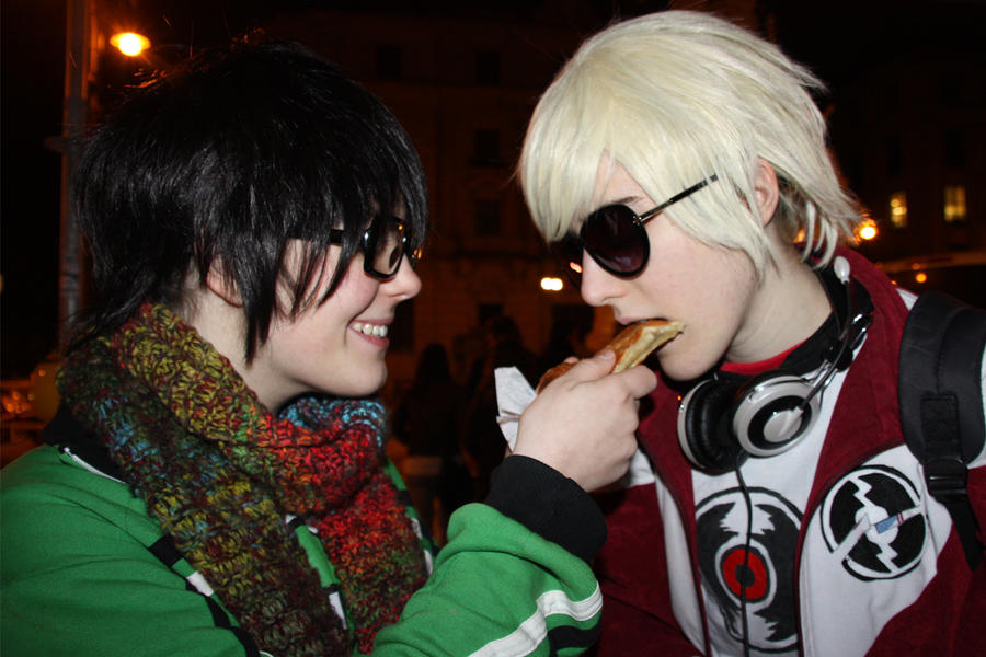Vuestros cosplays de Homestuck [SPOILERS] - Página 2 Try_this_dave_by_bloody_tears_panther-d4knmzw