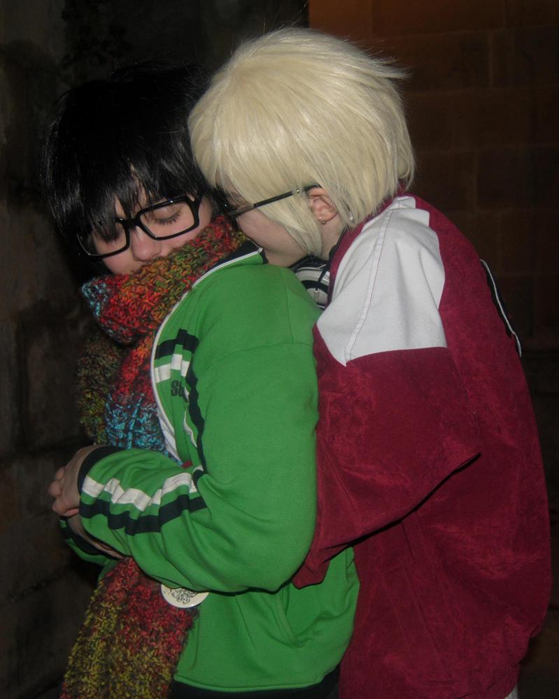 Vuestros cosplays de Homestuck [SPOILERS] - Página 2 John_x_dave_by_bloody_tears_panther-d4krren