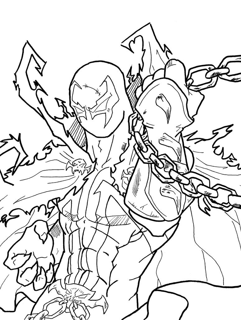 spawn coloring pages spawn by thebeastart on deviantart