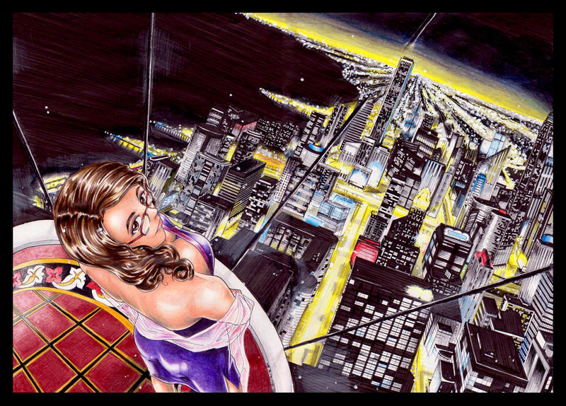 Cityscape by ravenwing136