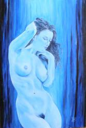 Blue legend of Salacia by ChinaJB
