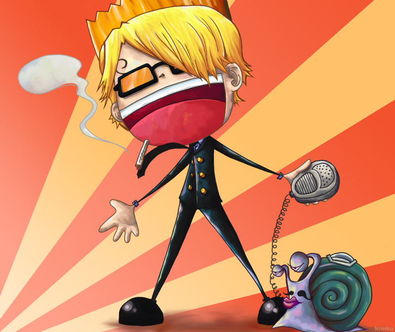 MR. PRINCE aka Sanji by kitanai-neko
