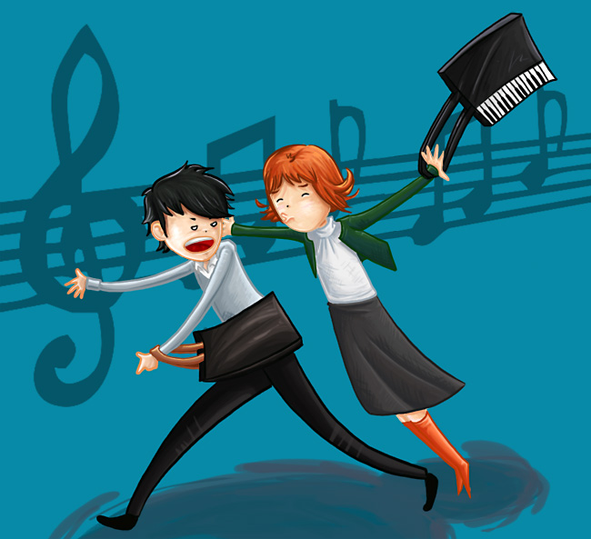 Nodame Cantabile 429976: Nodame Cantabile By Kitanai-neko On DeviantART