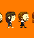 Pixel Beatles ANIMATED GIF by kitanai-neko