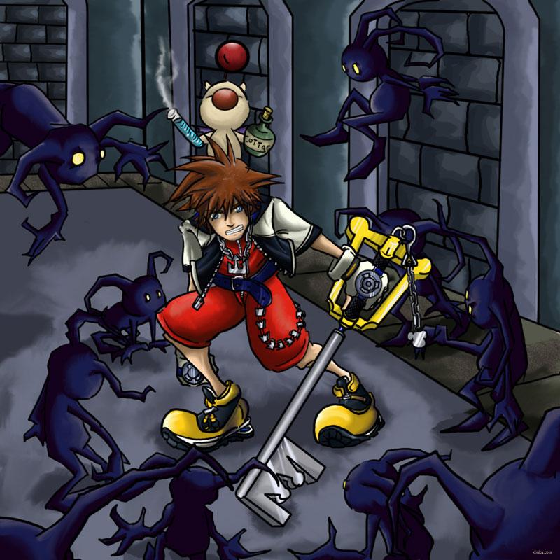 Kingdom Hearts 1 By Kitanai-neko On DeviantArt