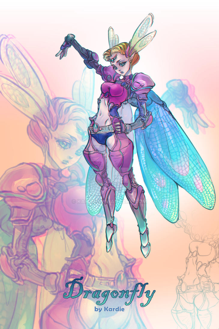 Adoptable DragonFly by Kardie