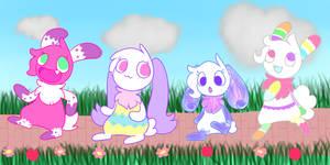Easter Parade by ZyloBunny