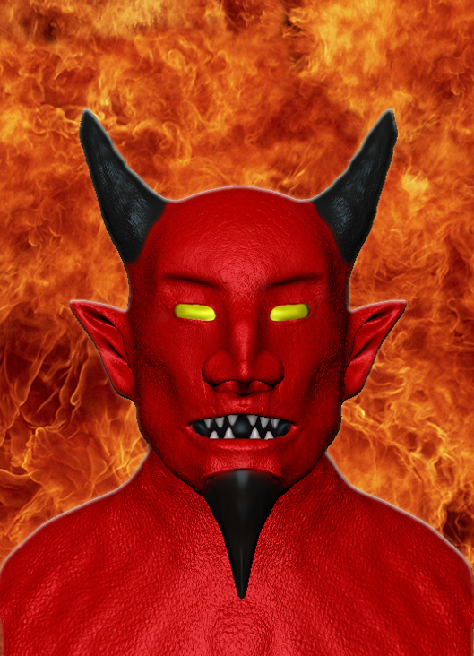 Devil Photoshop Image by Da-Bacon-master