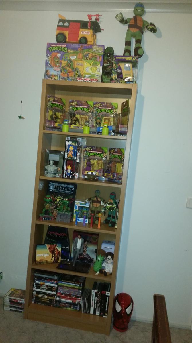 Finished arranging the shelf by Da-Bacon-master