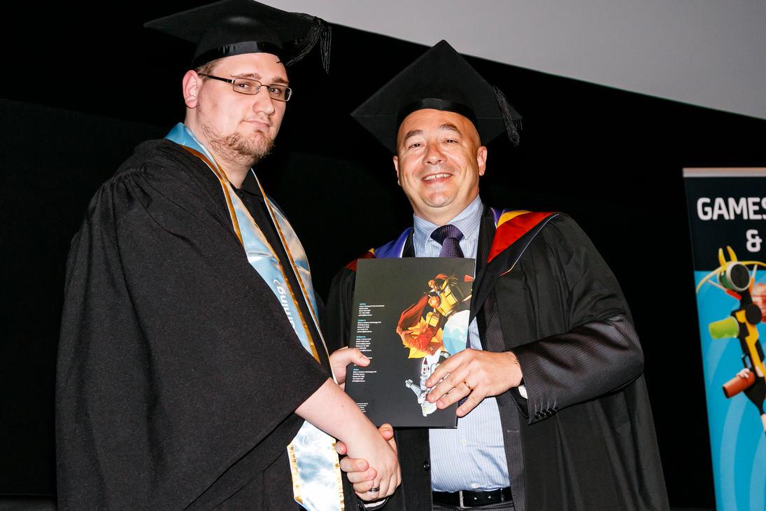 Me graduating 2015 by Da-Bacon-master
