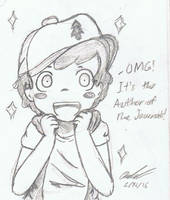 Dipper Fanboying by Mischief-Soul-Lover