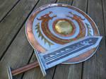 Dragon Sword and Shield