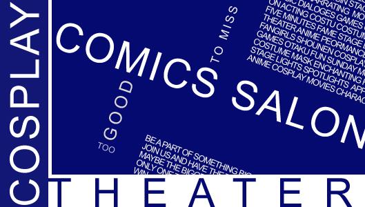 Comics Salon cosplay theater competition by Miyu01