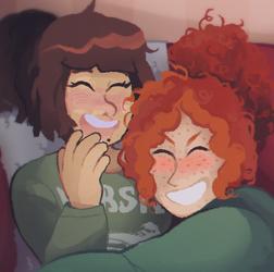 Cuddles by glattax