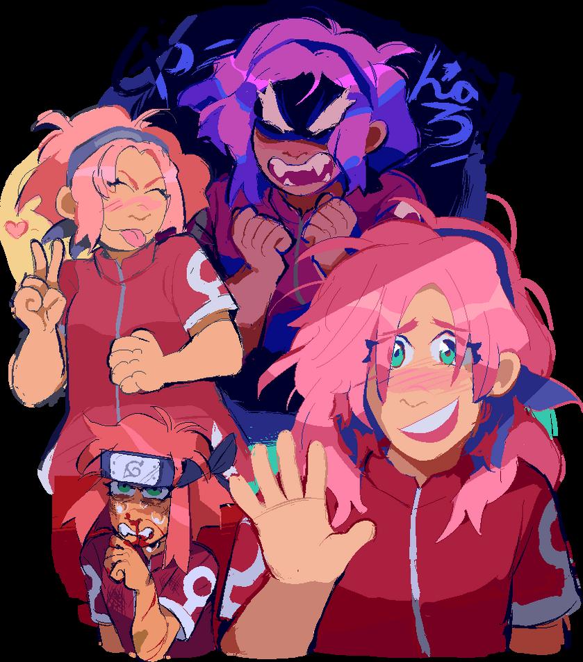 that one pink ninja kid by glattax on deviantart