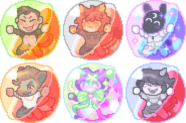 Finished Capsule YCHs