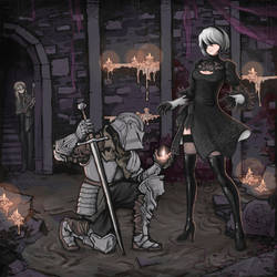 Nier automata X Dark souls
