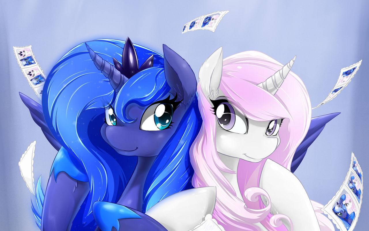 Luna and Fleur