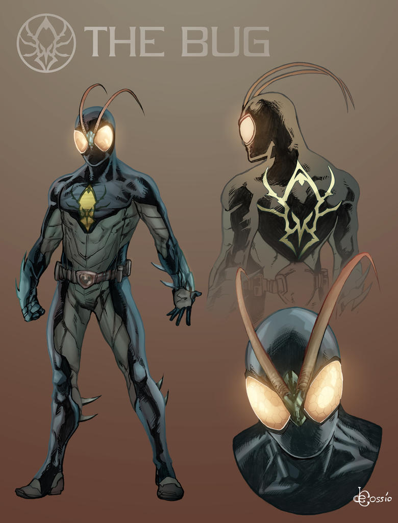 The Bug Redesign 3 By Mysterious Flame On DeviantArt