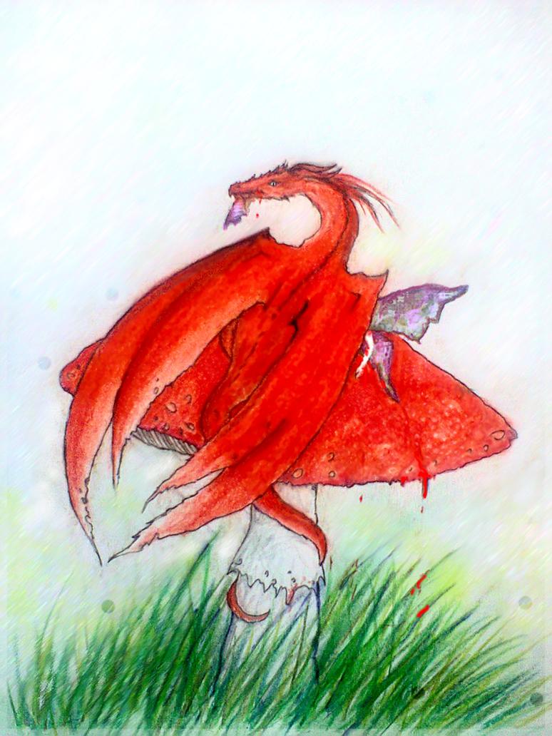 Amanita muscaria by Kalliroe